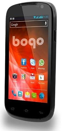 Bogo LifeStyle 4DC Smartphone débloqué (4 pouces - 4 Go) Noir (import Espagne)