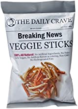 The Daily Crave Veggie Sticks 1 Ounce Pack of 24