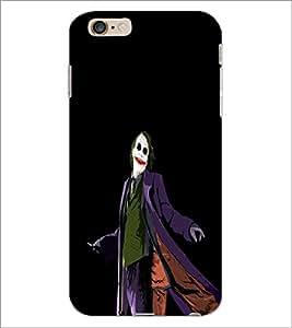 PrintDhaba Joker D-3304 Back Case Cover for APPLE IPHONE 6 (Multi-Coloured)
