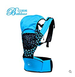 Bass Bear multifunctional baby sit infants hold back stool shoulder strap Summer Infant baby stool hold stool ventilation