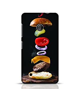 Stylebaby Phone Case Burger Back Cover For Nokia Lumia 530 Multicolor