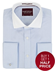 2in Longer Sartorial Pure Cotton Winchester Shirt