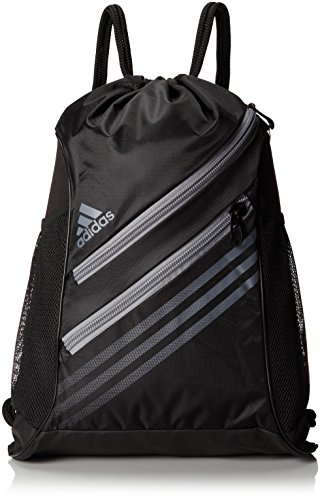 Adidas Strength Sackpack, Black/Tech Grey, 20 X 15-Inch back-958682