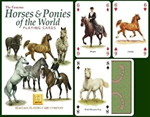 Horses & Ponies Playing Cards