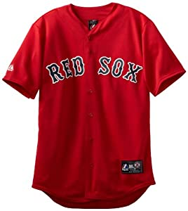 MLB Boston Red Sox Alternate Replica Jersey, Red by Majestic