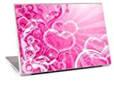 DESIGNER LOVE PINK DELL D610 LAPTOP + WINDOWS 7
