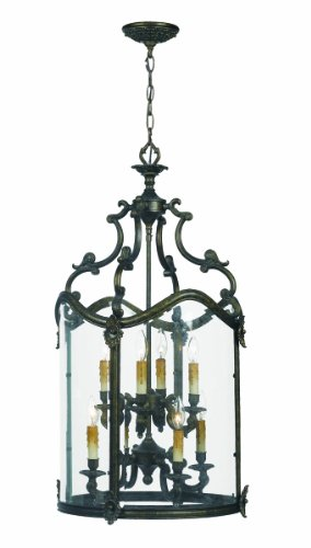 B002RDY5TA World Imports 5156-63 Venezia Collection 8-Light Pendant , French Bronze