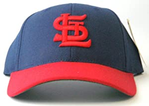 St. Louis Cardinals American Needle Cooperstown 500 Retro 1943 Leather Backstrap Cap by American Needle