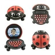 Magnetic Ladybug Deskmate Calculator & Sharpener