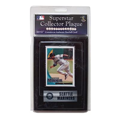 MLB Seattle Mariners Chone Figgins Card Plaque