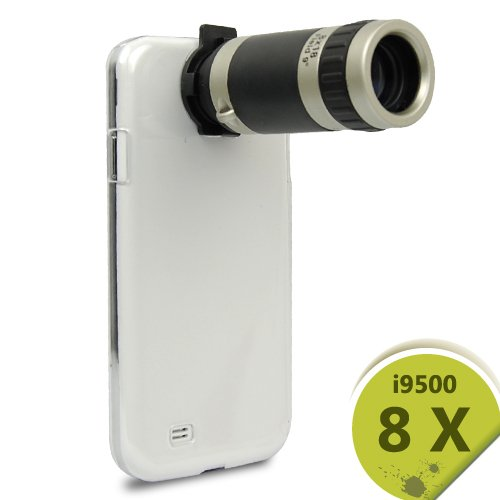 Orbmart 8X Zoom Telescope Camera Lens With Black Case Cover Holder For Samsung Galaxys S4 I9500