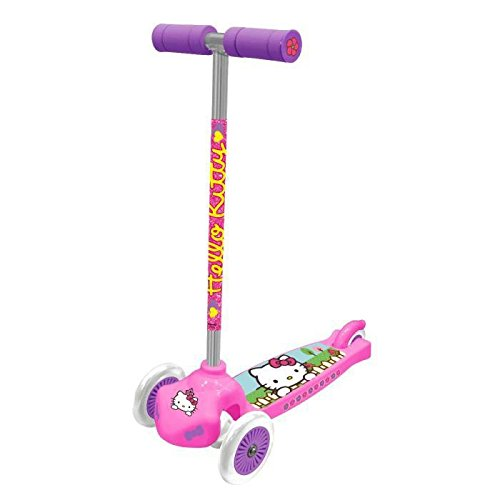 Trottinette 3 Roues Moove & Groove Hello Kitty Glitter