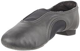 Capezio V Low CP01C Jazz Shoe (Toddler/Little Kid),Black,1.5 W US Little Kid
