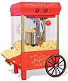 Nostalgia ElectricsT CollectionT Kettle Popcorn Maker, Red