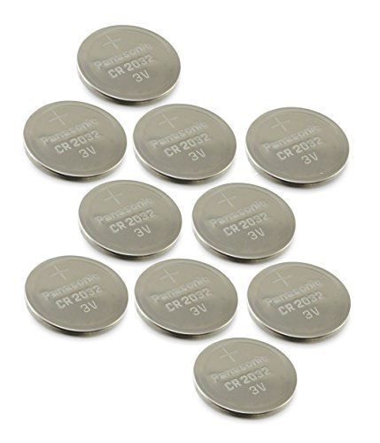[ 10 pcs ] — Panasonic Cr2032 3v Lithium Coin Mobile Battery Dl2032 Ecr2032 ( Pack of 10 ) via A Global of Offers®