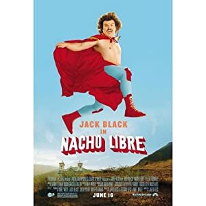 (27x40) Nacho Libre Jack Black Movie Poster