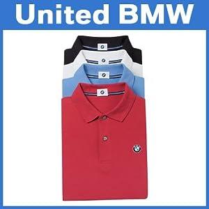 Bmw Genuine Logo Mens Polo Shirt Black Xl from BMW