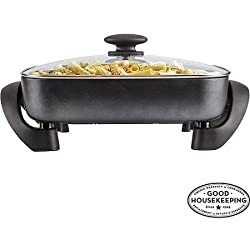 FARBERWARE Non-stick Electric Skillet, Black