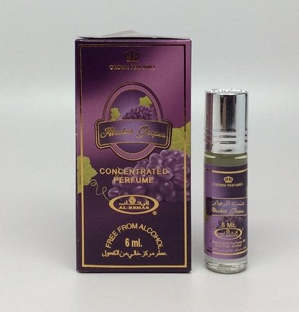 Al-Rehab Grapes - Perfume Oil by Al-Rehab (6ml) (Grape Perfume compare prices)