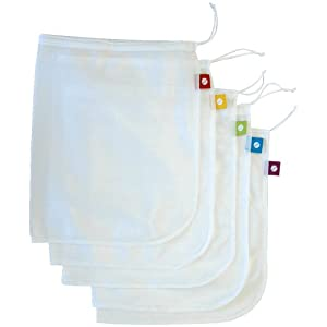 Flip & Tumble Reusable Produce Bags, Set of 5
