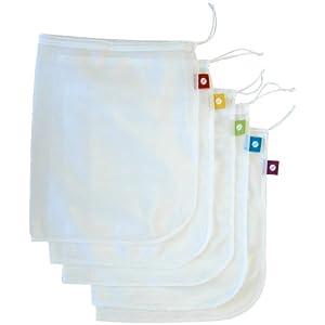 Flip & Tumble Reusable Produce Bags, Set of 5