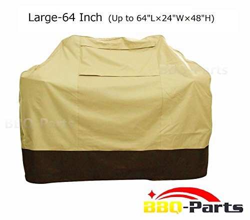 Cheapest Price! BBQ-PARTS Barbecue Grill Cover for Weber, Charmglow, Brinkmann, Jennair, Uniflame, L...