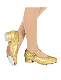 """Girls """"Sparkle Tap"""" Glitter Tap Shoes,T9450C"""