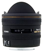 Sigma 10mm f/2.8 EX DC HSM Fisheye Lens for Nikon Digital SLR Cameras