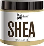 Raw, Unrefined African Shea Butter, Ivory, 1 lb | 100 Percent Pure with Zero Additives by Raw Apothecary | For Body, Hair & Skin