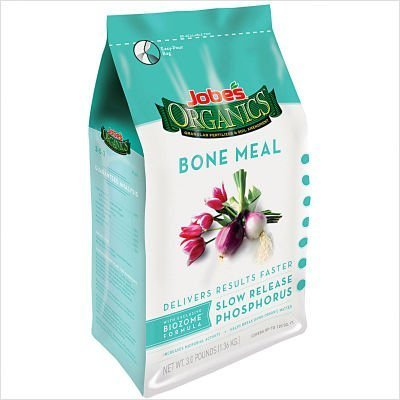 Jobes 09326 Organic Bone Meal Granular Fertilizer 4-Pound Bag