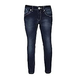 Sodacan Boy's Jeans (SDC 131_Blue_11-12 Year)