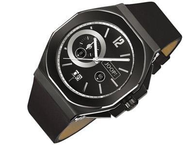 Joop Cosmopolitan JP100201001 - Reloj de caballero de cuarzo, correa de piel color negro