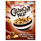 Kellogg's Crunchy Nut Chocolate Curls Honey & Nut Clusters 450G