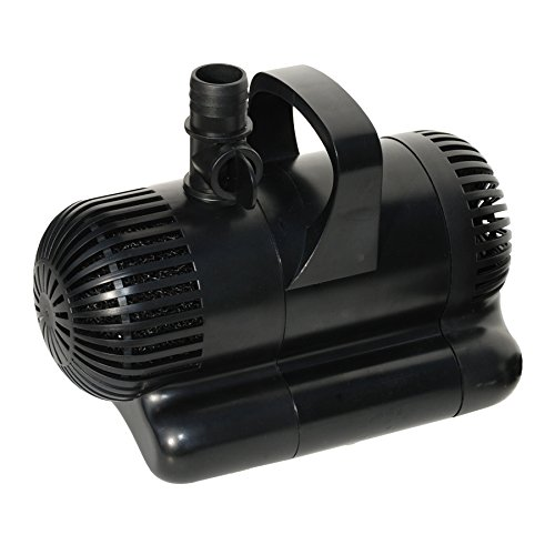 Smart pond 1300 gph pump with uv technology best garden for Best pump for a small pond