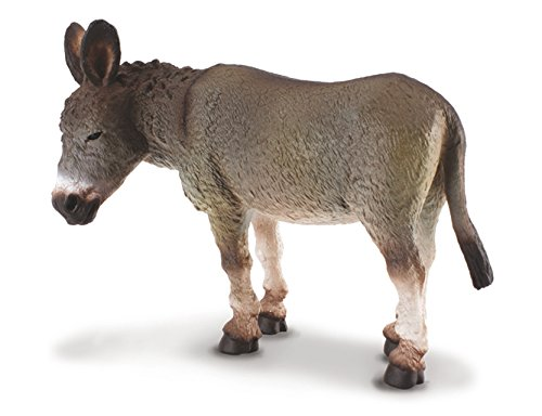 CollectA Donkey, Grey - 1