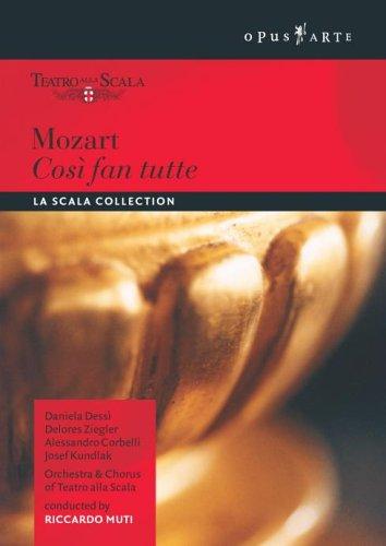 Mozart: Cosi Fan Tutte [DVD]