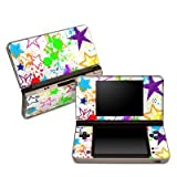 Scribbles Design Protective Decal Skin Sticker (High Gloss Coating) for Nintendo DSi XL Game Device