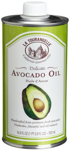 La Tourangelle Avocado Oil, 16.9-Ounce Tins (Pack of 2)