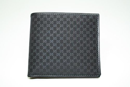 Gucci Wallets 150404 Men Black