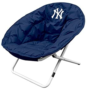 Logo Chairs 520-15 MLB Sphere Chair - New York Yankees by Logo Chairs