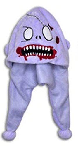 Super Soft Plush Zombie Hats (Cavity Chompsky) - 1