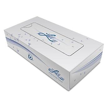 """11513 Livi VPG plana caja del tejido facial, 2 capas, 8.37 """"x 8.07"""