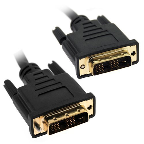 Gtmax High Resolution Dvi-Dvi Male To Male Gold Plated 15 Feet Cable 4.5M For Hdtv, Plasma, Lcd
