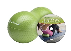 Buy Gaiam Restore Strong Core & Back Care Kit w  DVD by Gaiam