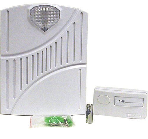 Sunnybell ST60 3-Tone 16-Channel Wireless Door Bell,Door Chime With Strobe Light
