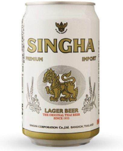 シンハー(SINGHA) 缶 330ml×24本 Thailand beer タイ ビール