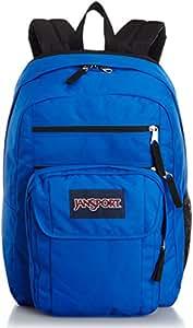 "JanSport Mens Digital Carry Mainstream Digital Student Backpack - Blue Steak / 18""H X 13""W X 7.5""D"