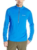 Columbia Camiseta Técnica Trail Flash Half Zip (Azul)