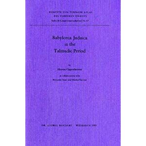 Amazon.com: Babylonia Judaica in the Talmudic Period (Beihefte Zum ...
