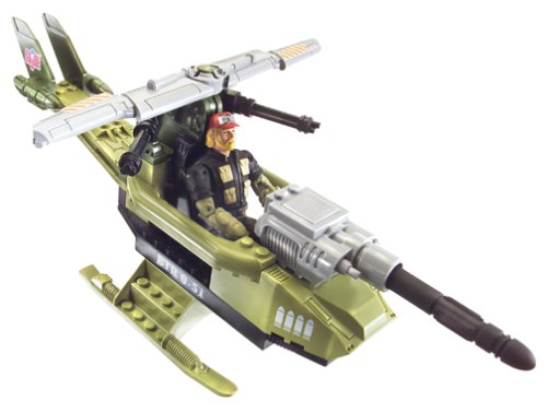 G.I. Joe Vs. Cobra Locust Built to Rule 28 Piece Building Set